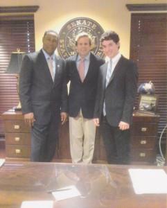 Nat Moore, Senator Haridopolos, David Goldstein