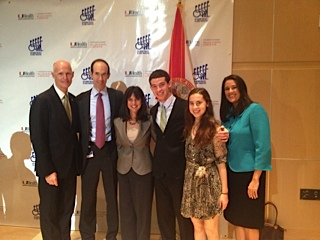 Governor Scott Celebrates State's New Concussion Protections at Miami Project
